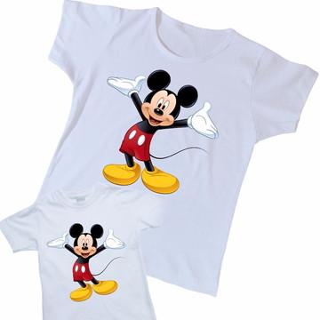 Kit duas camisetas Mickey