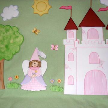 Painel de princesas