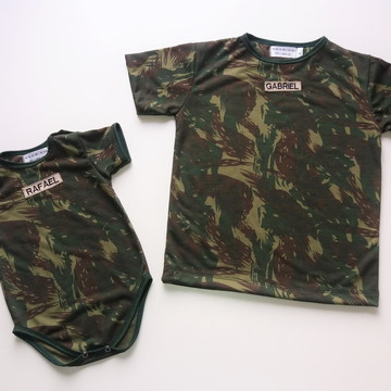 Camisetas Camufladas Irmãos