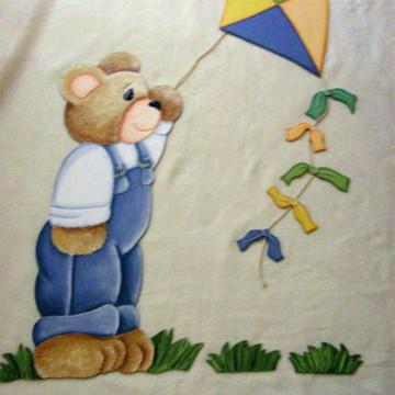 Urso com pipa