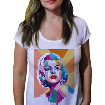 Camiseta Feminina marilyn monroe cool