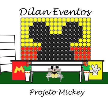 Decoração festa Mickey opção 3