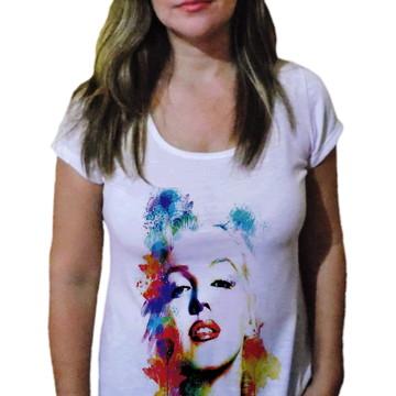 Camiseta Feminina marilyn monroe drw