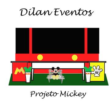 Decoração festa Mickey opção 4