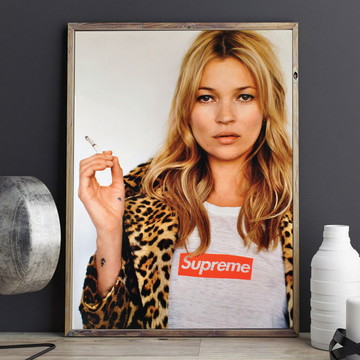 Pôster Kate Moss A4 - ARTE DIGITAL