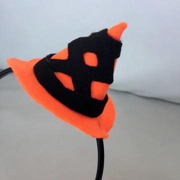 Tiara Chapéu Halloween em Feltro
