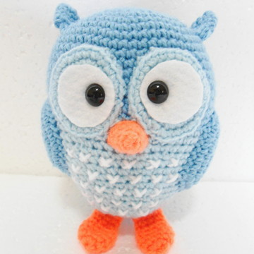 Amigurumi Coruja Azul (Owl Gurumi)