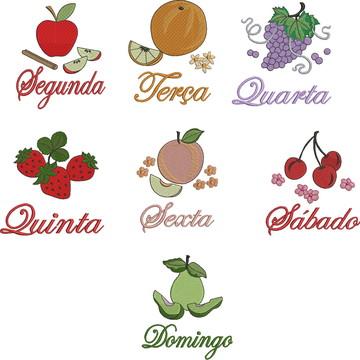 Matrizes Semaninha Frutas