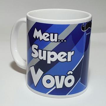 Caneca Porcelana Personalizada Vovô