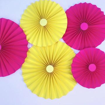 FIORATAS Painel Collezione Pink Amarelo