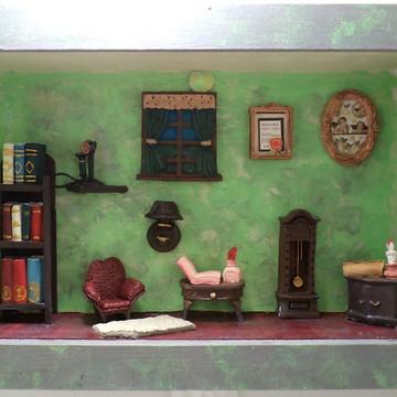 Sala miniatura resina