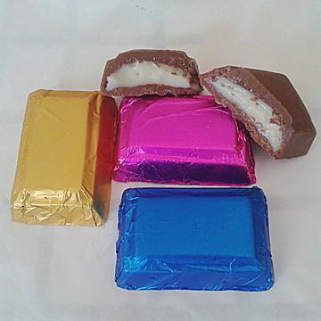 Barrinhas de chocolate trufadas