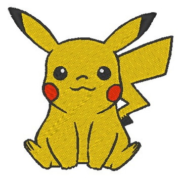 Matriz de bordado - Pikachu