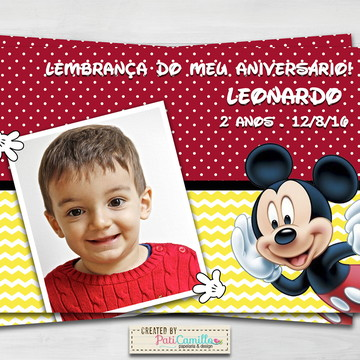 Foto Lembrança - Tema Mickey