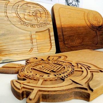Tábua De corte, de madeira de time