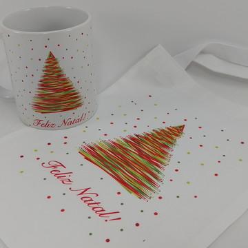 Natal caneca Lembrança de Natal
