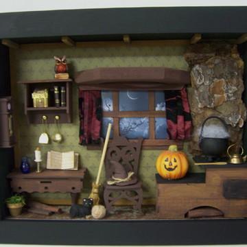 Quadro Miniatura Cozinha da Bruxa