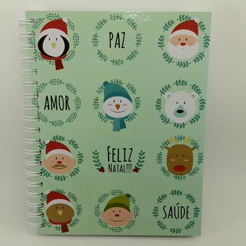 Caderno Grande Natal