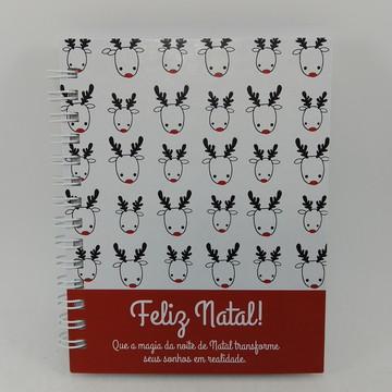 Caderno Personalizado Feliz Natal