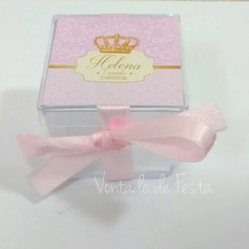 Caixinha acrílica Princesa/Realeza