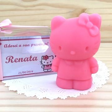 Lembrança/Convite Hello Kitty