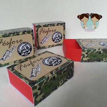 Caixa de fósforo - festa JIPE - JEEP