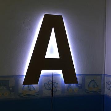 Luminária Letra LED