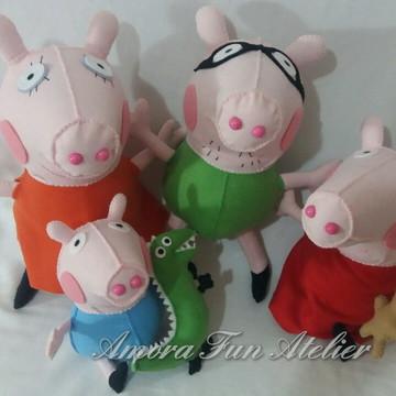 Decoração - Familia Peppa Pig