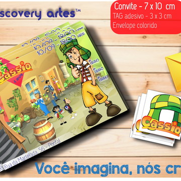 Convite Chaves