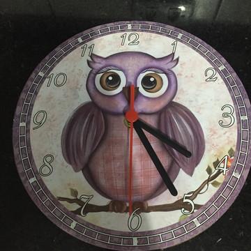 Relógio de MDF