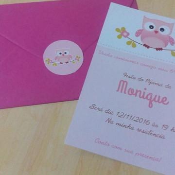 Convite Coruja