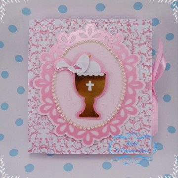 Caixa Cartão Lembrança Primeira Comunhão
