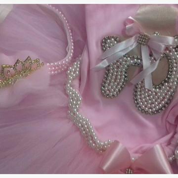 2d750e8555 Fantasia Bailarina luxo completa