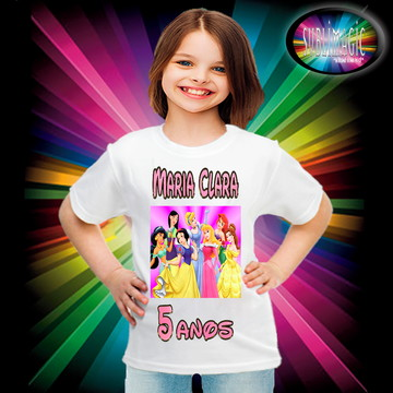 Camiseta Princesas Disney