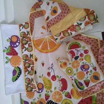 e74c7f171e0fc kit avental Frutas