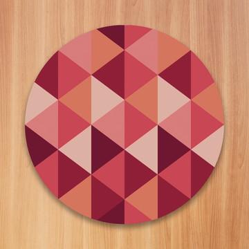 Sousplat Geométrica