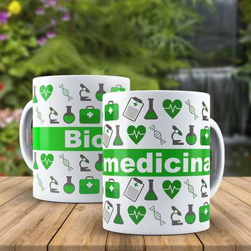 Canecas personalizada Biomedicina!