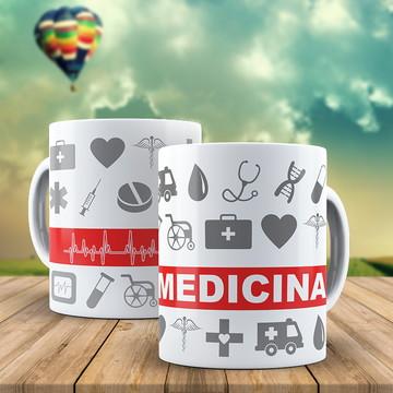 Canecas personalizada Medicina!
