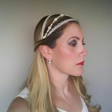 Headband / Tiara Noiva Diana
