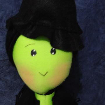 boneca BRUXA MÁ DO OESTE