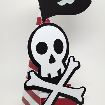 Enfeites de Mesa Piratas
