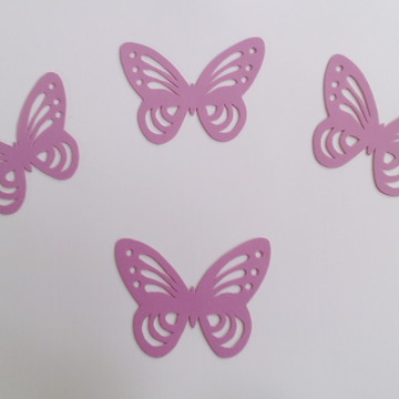 borboletas em eva