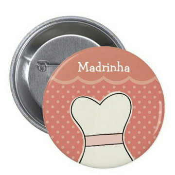 Boton Personalizado Madrinha
