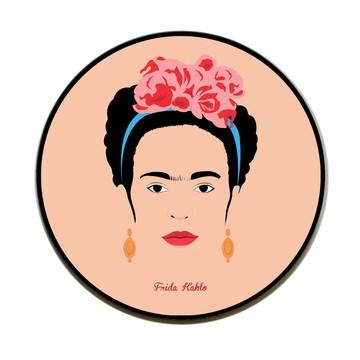 Quadro redondo Frida (Minimalista)