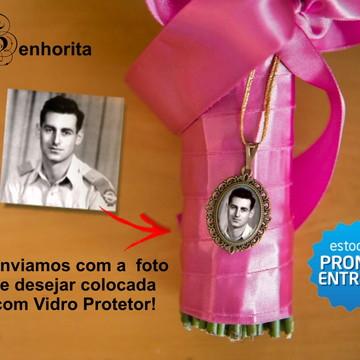 Medalha para Buque Relicario com foto