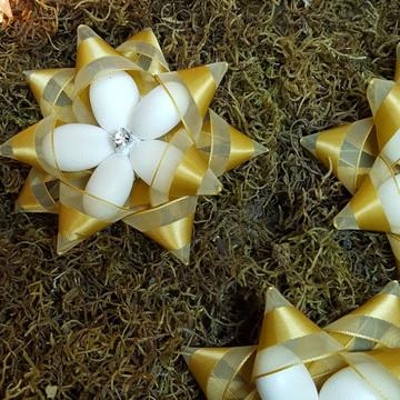 amêndoas estrela de natal Ano novo lembrancinha