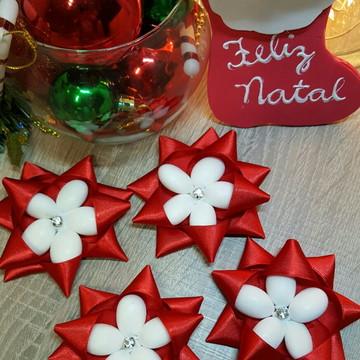 Natal lembrancinha estrela de amendoas