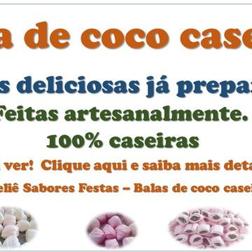BALAS DE COCO - RECHEADAS