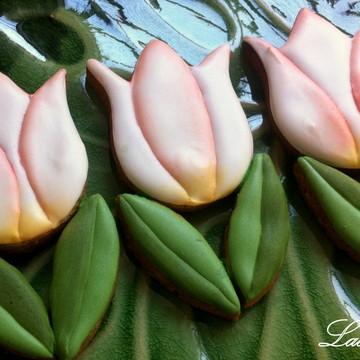 Biscoitos Decorados Tulipa