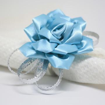 Porta guardanapo rosa azul tiffany